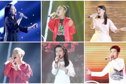 TRỰC TIẾP: Top 6 tranh tài ở Chung kết Giọng hát Việt nhí 2017