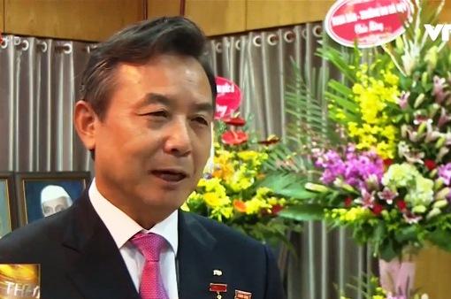 Trao kỷ niệm chương cho tổng lãnh sự Hàn Quốc tại Việt Nam