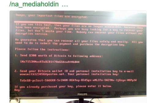 Sau WannaCry, người dùng lại phải đối mặt ransomware mới đáng sợ không kém