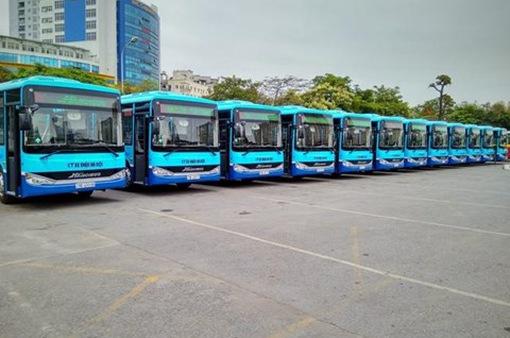 """Tuyến bus 35A Trần Khánh Dư - Nam Thăng Long """"khoác áo mới"""", có wifi miễn phí"""