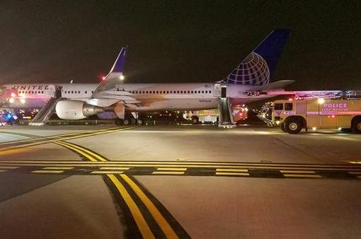Cháy động cơ máy bay United Airlines, sân bay Newark Liberty tạm đóng cửa