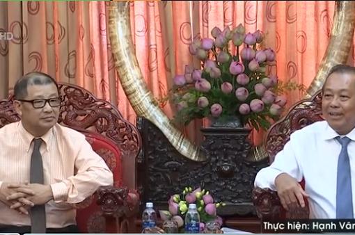 PTTg Trương Hòa Bình gặp gỡ Hội Doanh nghiệp Việt Nam tại Australia
