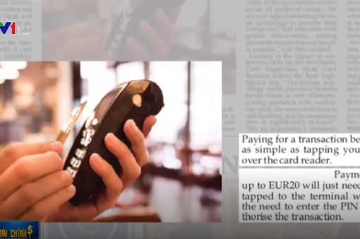 Phương thức thanh toán không dùng tiền mặt tại nhiều nước châu Âu