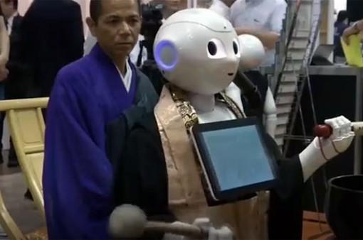 Robot có thể… tụng kinh trong đám tang