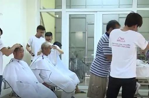 Salon tóc đặc biệt tại Bệnh viện Quân y 103