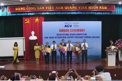 Cả 3 thiết kế sân bay Long Thành đều đạt giải Nhất