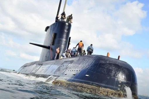 Mỹ phát hiện vật thể lạ gần tàu ngầm Argentina