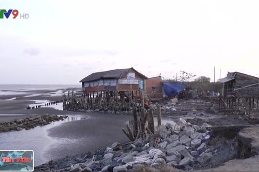 Bờ biển ĐBSCL sạt lở không theo quy luật