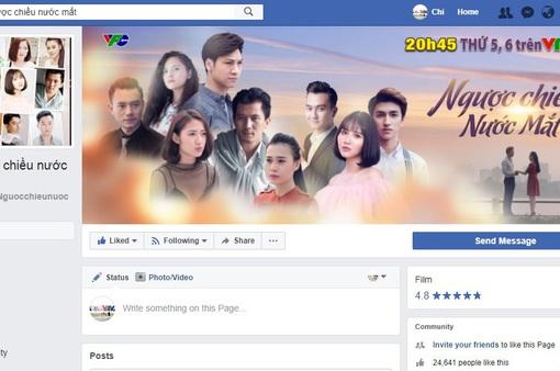 Fanpage Ngược chiều nước mắt thu hút hơn 24.000 lượt like sau 1 tuần bộ phim lên sóng