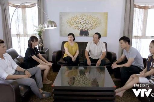 """Ngược chiều nước mắt - Tập 2: Chuyện khiến Mai (Phương Oanh) có thai bị vỡ lở, Sơn (Hà Việt Dũng) khiến cả nhà """"náo loạn"""""""