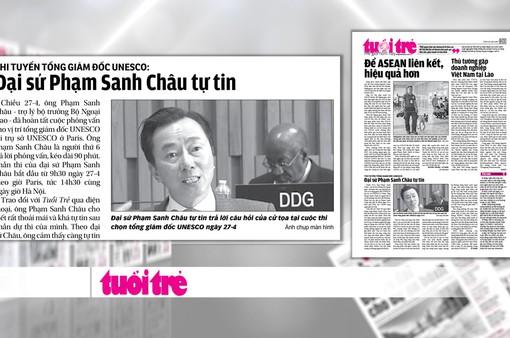 Đại sứ Phạm Sanh Châu: Tôi sẽ giúp UNESCO mạnh mẽ, đoàn kết hơn
