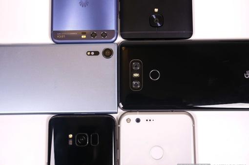 """10 mẫu smartphone tốt nhất thế giới: iPhone X """"đại náo"""""""