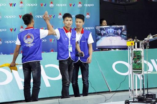 Robocon Việt Nam 2017: Xem lại những trận đấu kịch tính cuối cùng vòng loại 1 khu vực phía Bắc