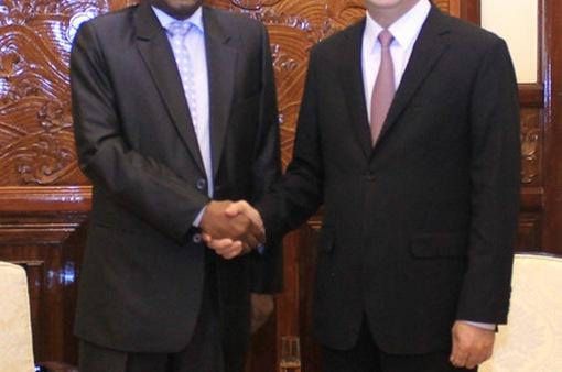 Chủ tịch nước tiếp Đại sứ Sudan