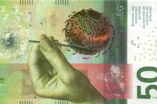 Đồng 50 Franc Thụy Sỹ đạt giải Đồng tiền của năm