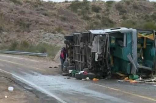 Tai nạn xe bus tại Argentina, 15 người thiệt mạng