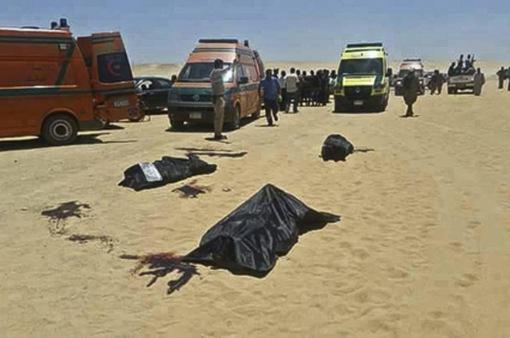 IS tuyên bố đứng sau vụ tấn công ở Ai Cập