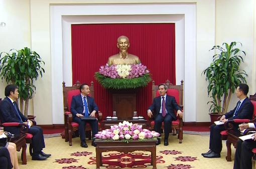 Tăng cường quan hệ hợp tác Việt Nam - Hàn Quốc