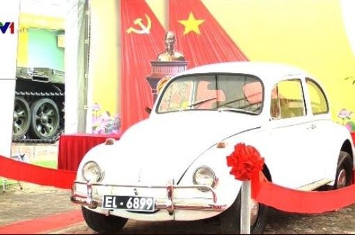 Trao tặng hiện vật của biệt động Sài Gòn