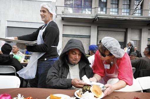 Lễ Tạ ơn cho người vô gia cư tại Mỹ