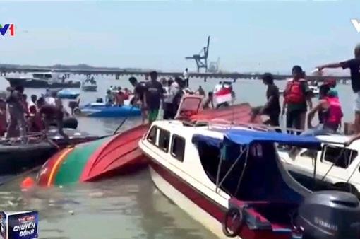 Lật thuyền tại Indonesia khiến 10 người thiệt mạng