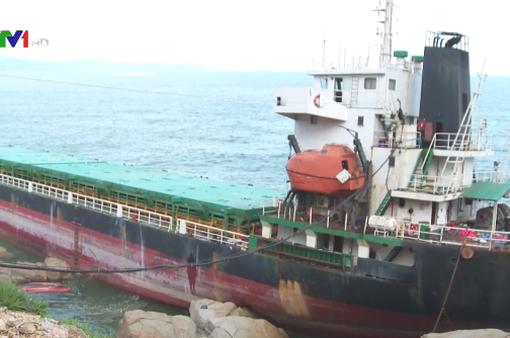 Đến tháng 12 mới có thể giải phóng luồng ra vào cảng Quy Nhơn