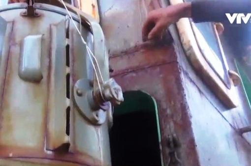 Sự cố tàu vỏ thép ở Bình Định: Có sai lệch về chất lượng thép và máy thủy