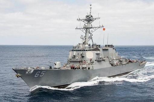 Tàu chiến Mỹ va chạm với tàu kéo Nhật Bản trong lúc diễn tập