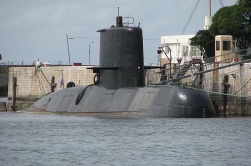 Manh mối tìm kiếm tàu ngầm Argentina