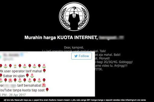 Trang web của công ty viễn thông lớn nhất Indonesia bị tấn công