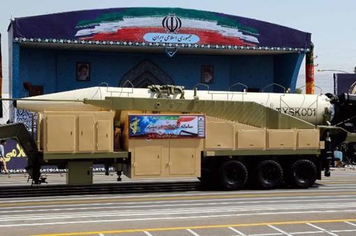 Iran ra mắt thế hệ tên lửa đạn đạo mới với tầm bắn 2.000 km