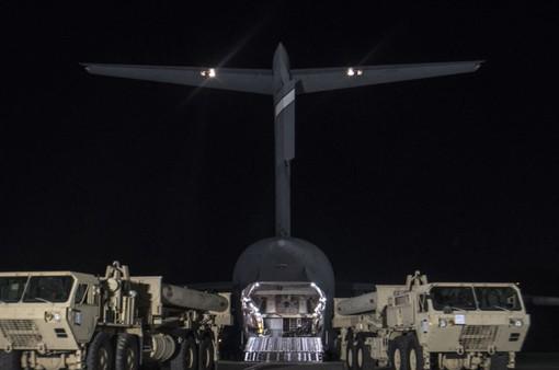 Mỹ di chuyển hệ thống THAAD vào vị trí tại Hàn Quốc
