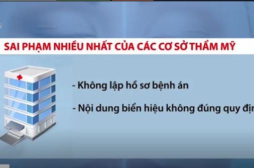 TP.HCM: Hơn 50 cơ sở phẫu thuật thẩm mỹ bị xử phạt
