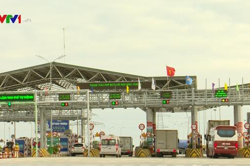 Cao tốc Hà Nội - Bắc Giang áp dụng thu phí không dừng