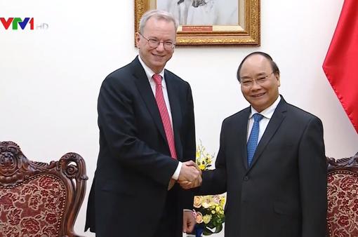 Thủ tướng đề nghị Google mở văn phòng đại diện chính thức ở Việt Nam