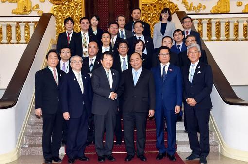 Thủ tướng hoan nghênh DN Nhật Bản trở thành cổ đông chiến lược của DN Việt Nam