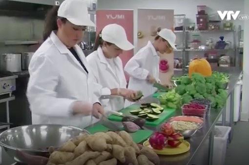 Thức ăn hữu cơ dành cho trẻ nhỏ được nhiều bà mẹ tại Mỹ yêu thích