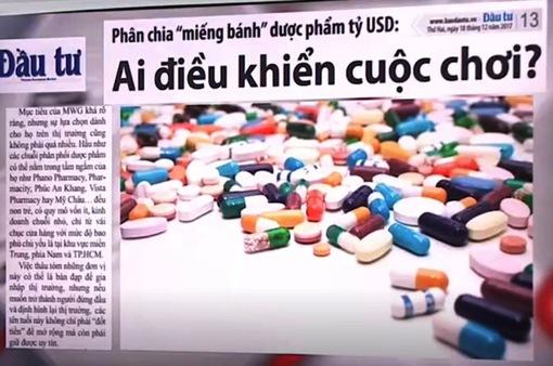"""Phân chia """"miếng bánh"""" dược phẩm tỷ USD: Ai điều khiển cuộc chơi?"""
