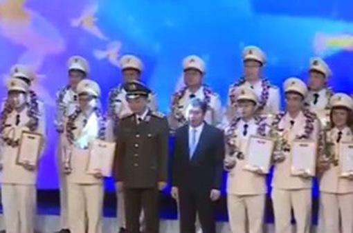 TP.HCM: Vinh danh các chiến sĩ công an tiêu biểu