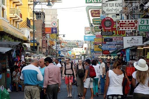 Du khách đến Thái Lan trong tháng 8 cao kỷ lục