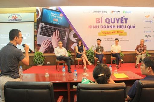 Hơn 200 chủ doanh nghiệp tìm hiểu bí quyết kinh doanh từ offline tới online
