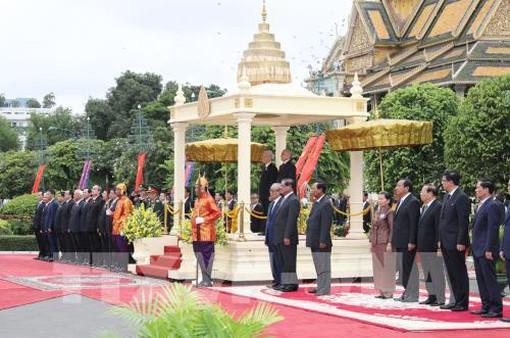 Tổng Bí thư Nguyễn Phú Trọng gửi Điện cảm ơn Quốc vương Campuchia Norodom Sihamoni