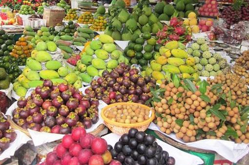Trái cây ở Đồng bằng sông Cửu Long tăng giá
