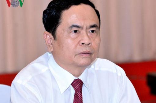 Ông Trần Thanh Mẫn giữ chức Chủ tịch UBTƯ MTTQ Việt Nam