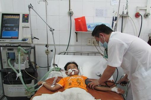 Số trẻ mắc bệnh hô hấp tăng cao