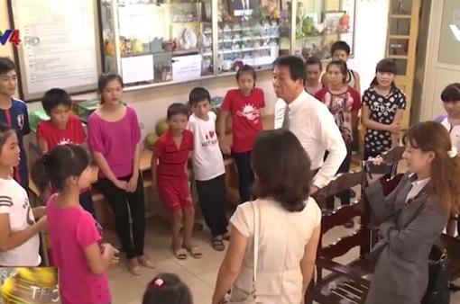 Đại sứ đặc biệt Việt - Nhật và tấm lòng với trẻ em Việt Nam