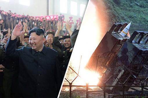 Triều Tiên công bố hình ảnh thiết kể tên lửa sử dụng nhiên liệu cứng