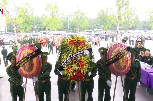 Truy điệu 2 chiến sĩ biên phòng hi sinh khi chống lũ