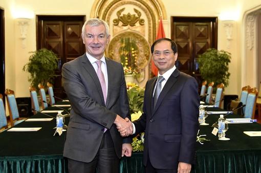 Hợp tác văn hóa–giáo dục là điểm sáng trong quan hệ Việt Nam – Bỉ