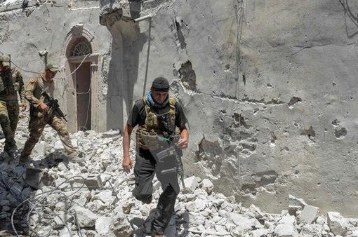 Chiến dịch giải phóng thành cổ Mosul sẽ kết thúc vài ngày tới